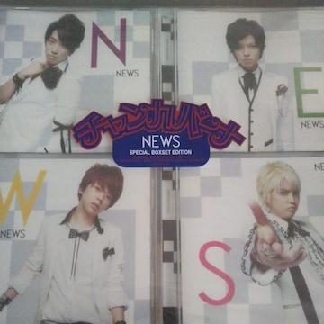 NEWS◇チャンカパーナ SPECIAL BOXSET 初回盤 CD+DVD◇中古