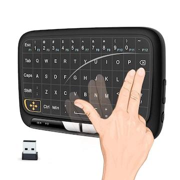 ワイヤレス式 ミニキーボード マルチタッチ 感圧タッチ