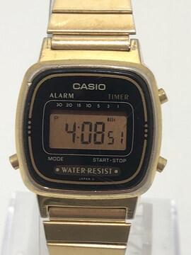 T329 カシオ CASIO LA670W クオーツ デジタル 腕時計