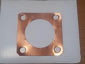 [AO9]オリジナル アドレスV100用 チューニングヘッドガスケット 送料込み