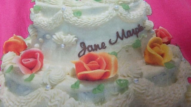 送料半額♪JaneMarpleコットンレ-ス&ヶ-キ薔薇&ロゴヽ(´▽`)/♪ < ブランドの