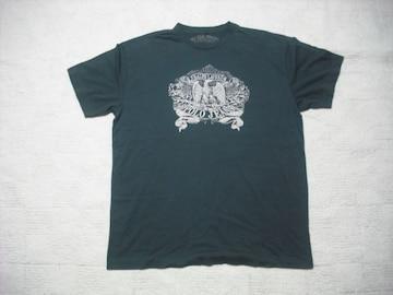 74 男 ラルフローレン ポロジーンズ 黒 半袖Tシャツ L