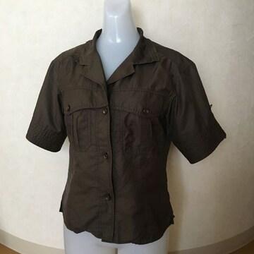 ボディ ドレッシング デラックス サファリシャツ カーキ 38