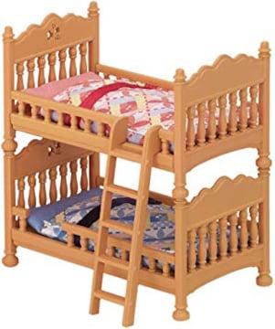 シルバニアファミリー 家具 二段ベッドセット カ-317