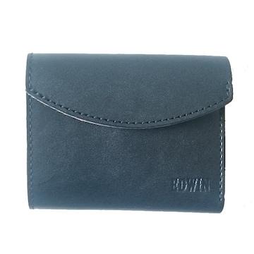 送料無料☆EDWIN(エドウィン) 栃木レザー三つ折り財布 日本製595黒