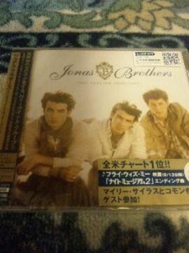 未開封CD ジョナスブラザーズ Jonas Brothers