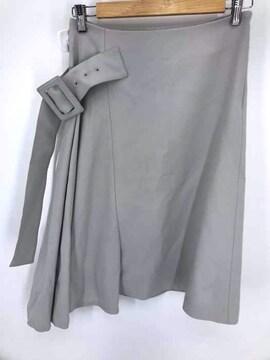 ADORE(アドーア)ヴィスコースツイルサイドフレアースカートスカート