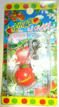 ☆信州限定 りんごキティ ファスナーマスコット(FM) 2008☆
