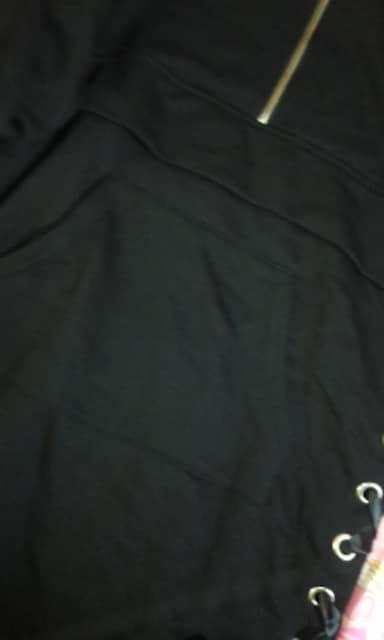 アンクルージュ裾リボン結び お袖クマちゃんミニ丈ワンピチュニック < ブランドの