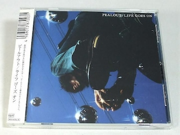 PEALOUT CD LIFE GOES ON ピールアウト