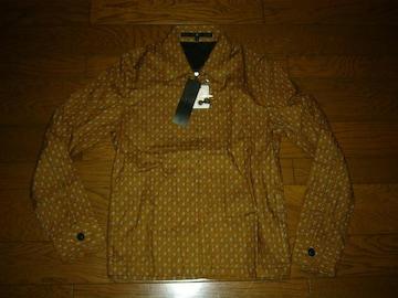 新品NOIDノーアイディードットシャツジャケット1スイングトップ