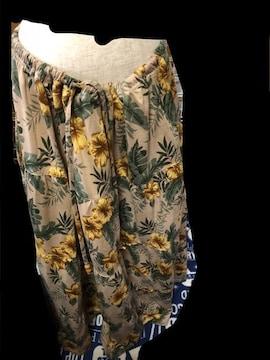 花柄★大きいサイズ★ロングスカート