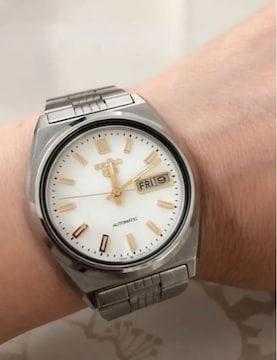 T094極美品★ セイコー 5  腕時計 自動巻 オートマティック