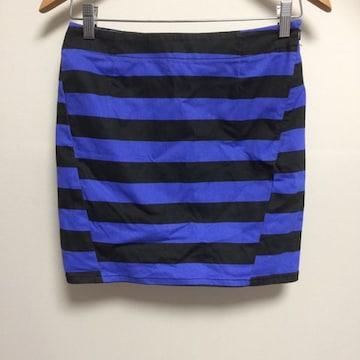 新品☆ボーダータイトスカート