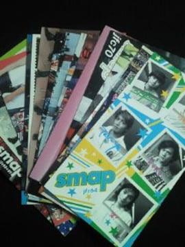SMAP スマップ ファンクラブ 会報 冊子 本 ブック BOOK 64-89 16冊