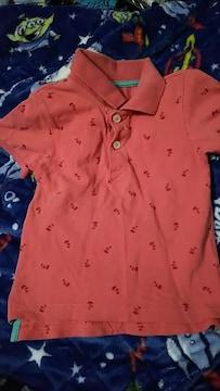 赤☆カジュアルポロシャツ☆size95