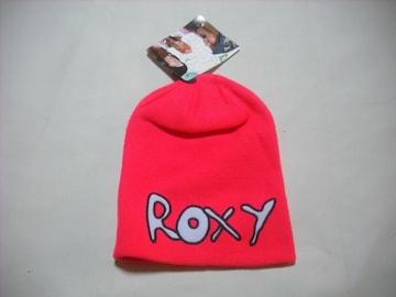 wb101 ROXY ロキシー ニット帽 チェリーピンク