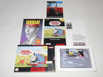 SFC★THOMAS THE TANK ENGINE & FRIENDS SNES 海外版 ポスター付