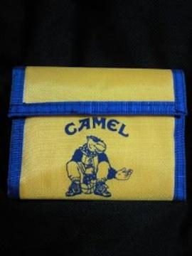 煙草 たばこ タバコ CAMEL キャメル 限定 財布 ウォレット ナイロン イエロー