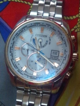 CITIZENLimited Editionエコドライブ電波ソーラー腕時計