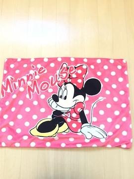 ディズニー ミニーマウス 赤×白ドット柄 枕/まくらカバー 新品