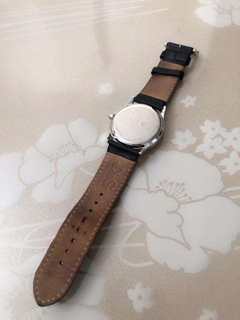 T146 D&G 腕時計 レディース 革ベルト ラインストーン < ブランドの