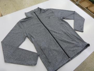 か(M 濃灰)オーシャンパシフィック★フルジップ長袖ジャケット 517482 薄手