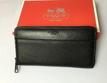 コーチ F74977 長財布 メンズ レディースサイフアウトレット品