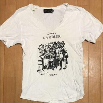Tシャツ gambler ギャンブラー Mサイズ