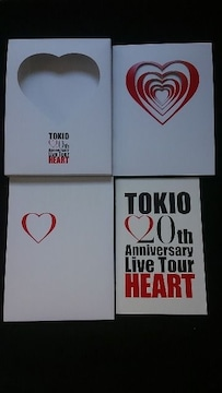 TOKIO 20th Anniversary Live Tour HEART 初回限定 ライブDVD