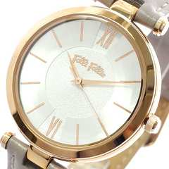 フォリフォリ 腕時計 レディース WF16R010SPS-GA クオーツ