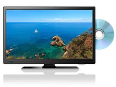 送料無料★新品保証付★DVD再生機能付き 19型 テレビ