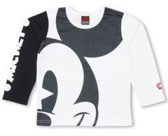 新品BABYDOLL☆ディズニー ミッキー ロンT 100 Tシャツ ベビードール