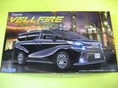 フジミ 1/24 車NEXT001 Toyota ヴェルファイア 新品 接着剤不要 スナップキット