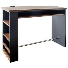 カウンターテーブル ブラック KNT-1200_BKDB