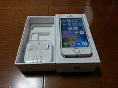 即落/即発!!au 美中古品 iPhone 5s 16GB ゴールド 完済