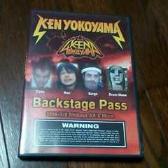 即決!セール Backstage PassケンバンドDVD