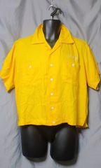 SWITCH レーヨン ボーリングシャツ S 未使用品 イエロー