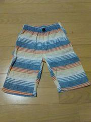 :送料無料:size120:一回着用:春夏半ズボン: