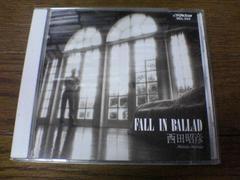 西田昭彦CD フォール・イン・バラッド 廃盤