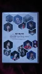 Kis-My-Ft2★SNOW DOMEの約束IN TOKYODOME2013.11.16通常盤キスマイ