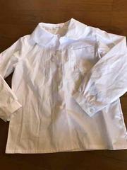 小学生制服白ブラウス女の子120美品