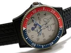 超希少 ミッキーマウス×SEIKO ALBA 公式 指差し腕時計