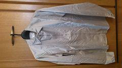 訳あり激安88%オフアニエスb、長袖シャツ(美品、銀、M)