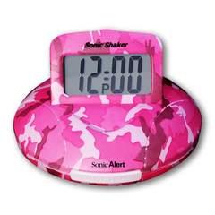 新品 携帯型振動式目覚まし時計 ソニックシェーカー SBP100C