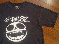 ロックTシャツ¶Gorillaz[ゴリラズ]★バンドTシャツ メンズS相当/送料\90〜