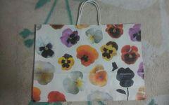 flowery feeling ショップ袋 美品 44.5×32