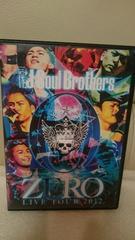 中古 三代目JSB ライブツアー2012 ZERO DVD2枚組 国内正規品 特典アリ