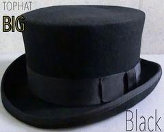 BIGサイズ 帽子 ロークラウン シルクハット トップハット 61cm