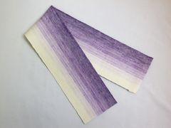 本麻伊達締め伊達〆紫ぼかし 和装着物・浴衣着付け小物